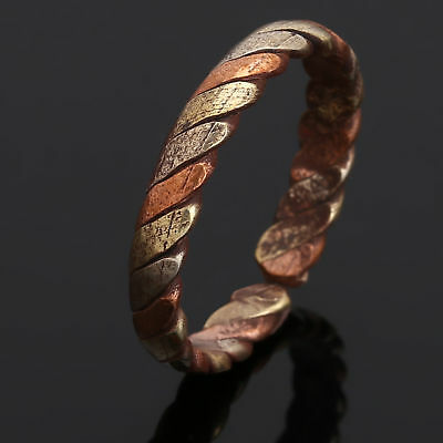 Tibetan Medicine Ring Copper & Brass Magnetic Adjustable Ring With Pure Copper