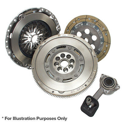 Luk Dual Mass Flywheel + 3PC Clutch Kit With CSC - Ford Transit 1955-On 2.2TDCI