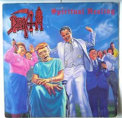DEATH - Spiritual Healing - Under One Flag FLAG38 - 1990 - Vinyl G