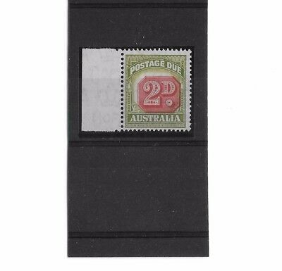 AUSTRALIA SGD121 2d POSTAGE DUE Shifted Tablet ERROR, Nice UNMOUNTED MNH Variety