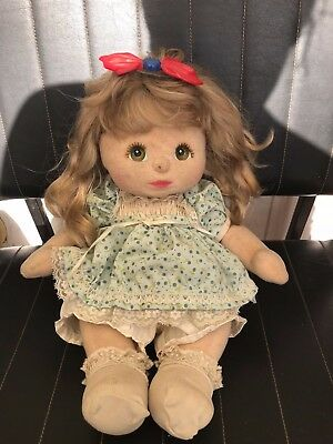 Ancienne Poupee My Child Feutrine Mattel 1985