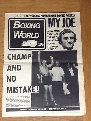 Boxing World - Joe Bugner - John H. Stracey - June 8, 1973