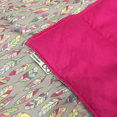 50cm x 35cm Weighted Therapy Calming lap Blankets, Autism, ADHD, Sensory,