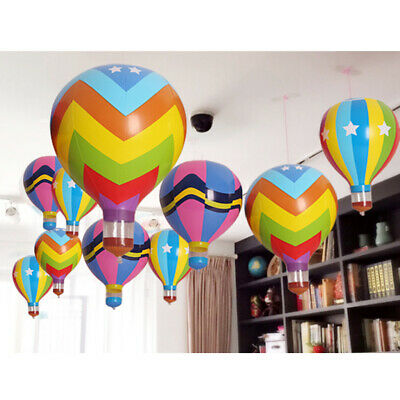 "Inflatable 18"" Hot Air Balloon Blow up Toy Home Party Decoration Games Props"