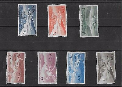 IRELAND 1948 SG 140-143b Air Set of 7 Superb UNMOUNTED MINT MNH. Lovely Airmails