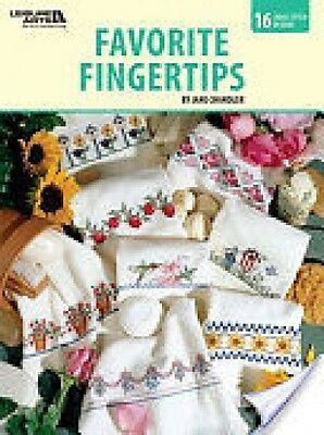 Favorite Fingertips By Jane Chandler Cross Stitch Chart  Pattern  16 Designs
