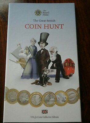 The Royal Mint £2 Coin Album With ×15 Coins