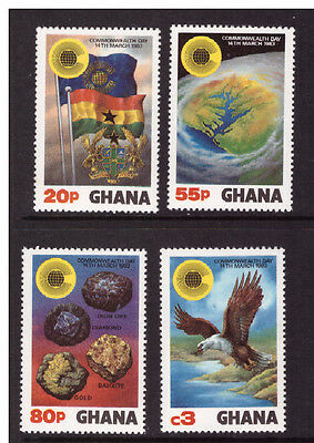 Ghana 1983 Commonwealth Day mint MNH set stamps