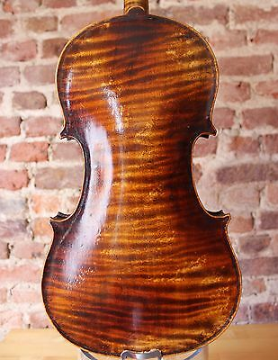 """A Very Interesting Old Vintage Violin Labelled """"Gabriele Carletti"""" !!!"""