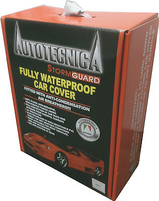 Autotecnica Stormguard Full Waterproof Sedan Car Cover Xx Large Up 5.8M 1/190