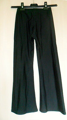 Roche Valley Black Jazz Pants Size 2  8-10 Years