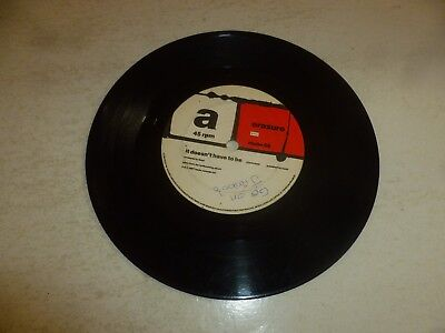 """ERASURE - It Doesn't Have To Be - 1987 UK 2-track 7"""" Vinyl Single"""