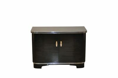 Art Deco Commode with Piano Lacquer