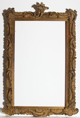 Florentine Style 19th Century Gilt Picture Frame