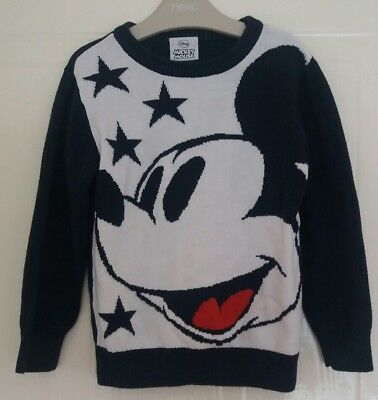 NEXT boys MICKEY MOUSE jumper age 3-4