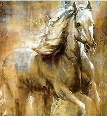 ZOPT29 hand paint Modern animals Wall art abstract horse oil painting on canvas