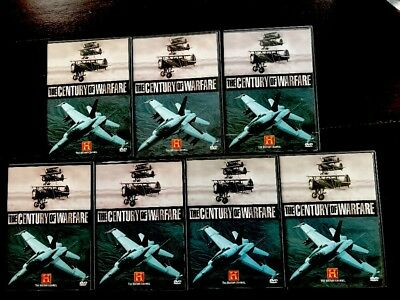 The Century of Warfare 7-Disc DVD Box Set WWI WWII The History Channel
