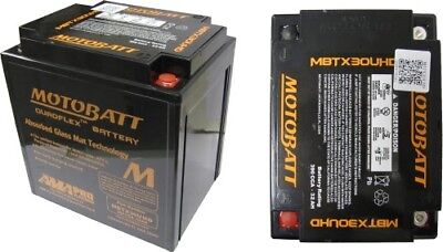 Motobatt Battery For Harley-Davidson CVO FLH (Touring) 1803 (110)cc 07-14
