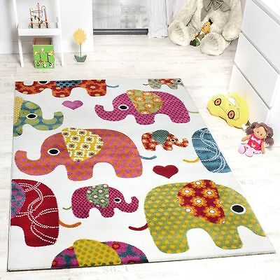 Kids Rug Nursery Colourful Soft Bedroom Play Mats Boys Girls Play Quality Rugs