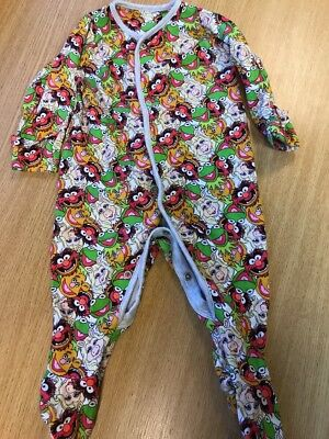 Muppets Babygrow To Suit 3-6 Months Mothercare Disney Official