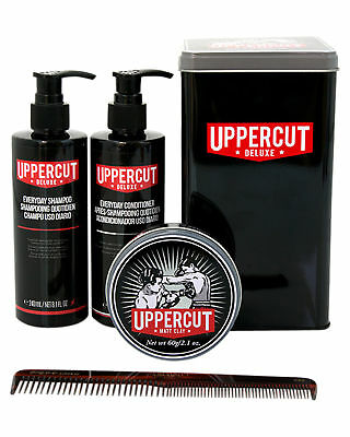 New Uppercut Men's Matt Clay Combo Limited Edition Tin