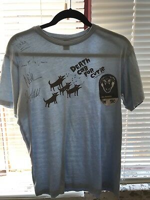 ***Signed*** Death Cab For Cutie T-Shirt Size S