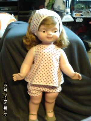 """23"""" American Doll & Toy Co 1961 Chuckles Doll Made One Year Only"""
