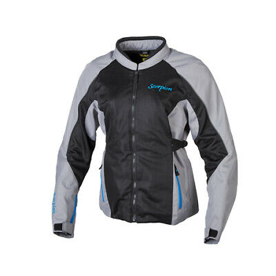 Scorpion EXO Maia Women's Jacket Grey Ventilated Mesh All Sizes