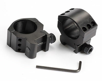 Hunting Low Profile 20mm Picatinny Weaver Rail Mount 30mm Ring Rifle Scope Mount