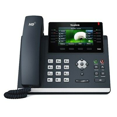 New! YEALINK SIP-T46S Ultra-elegant Gigabit IP Phone With PSU