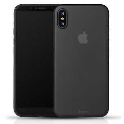For Apple iPhone X Shockproof Slim Clear Soft TPU Silicone Case Cover