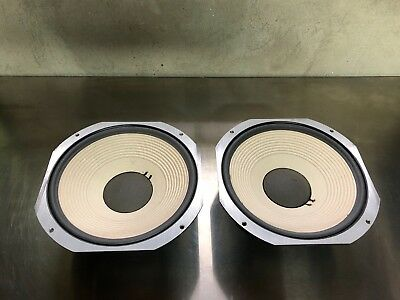 pair of vintage JBL LE14A drivers - 8 ohm - exc. condition - #42759 & #42769
