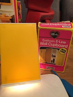 Vintage Sindy Boxed Eastham E-line Cupboard with light
