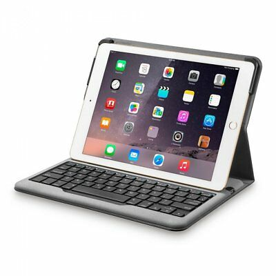 Anker A7722 Bluetooth Folio Keyboard Case for Apple iPad Air 2 Cover Black