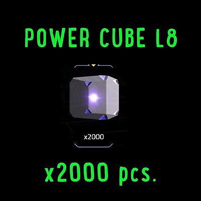 INGRESS POWER CUBE L8 x 2000 pcs. PRIME*