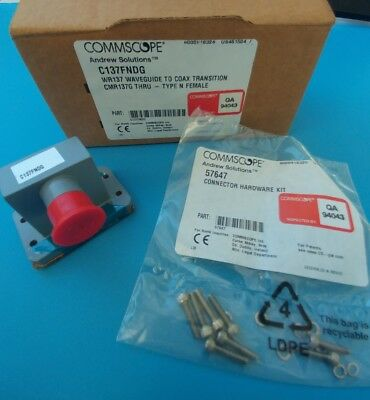 Andrew C137FNDG WR137 Waveguide to Type N(f) Coax Adapter Transition CRM137G