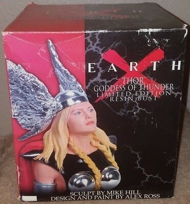 Dynamic Forces Earth X Thor Goddess of Thunder Bronze Variant