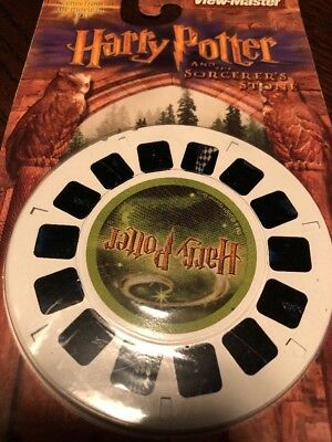 View-Master Reels Harry Potter Sorcerers Stone The Final Chapters Hogwarts Movie