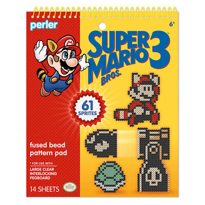 Perler Super Mario Bros. 3 Pattern Pad NEW