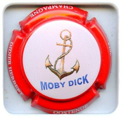 Capsule de champagne Herbert Didier Moby Dick Contour Rouge N°165