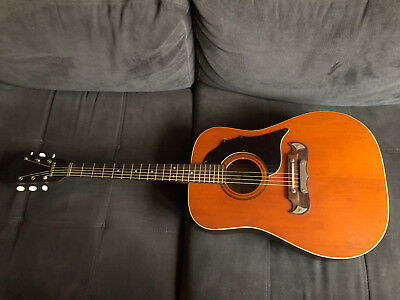 guitare acoustique vintage Framus texan 6