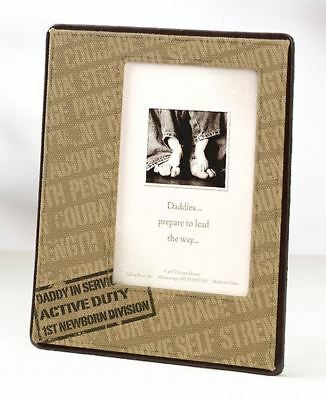 Daddy Deployment Picture Photo Frame Baby Showers Christening Gifts
