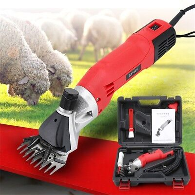 ST009 500W Electric Sheep Goats Shear Alpaca Farm Shears 220V Shearing Clipper