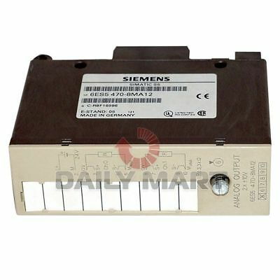 Siemens New 6Es5 470-8Ma12 Simatic S5 Output Module Analog 2Point Isolated