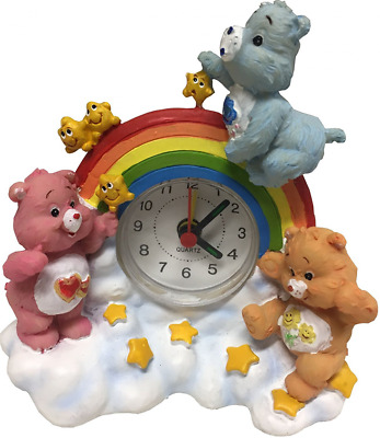 Care Bears Resin Clock