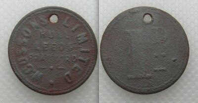 Collectable W. Cussons Limited Token - Hull Leeds Bradford - Detecting Find