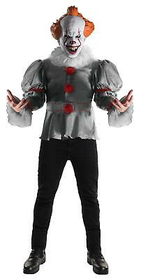 Deluxe Pennywise ADULT Costume NEW IT the Movie 2017
