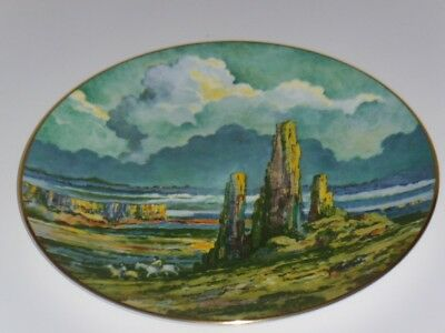 "Royal Doulton ""four Corners"" Collectors International Rack Plate C1979 ~ Perfect"