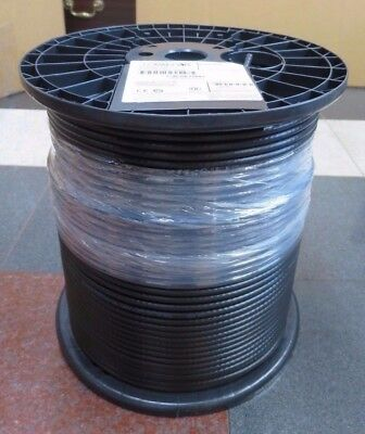 1000ft PCT RG6 Cable Satellite DISH NETWORK DirecTV BLK BULK RG-6 COAXIAL CABLE