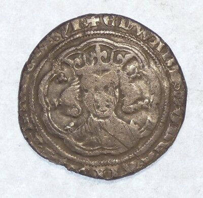 1351-61 England King Edward III Silver Groat FINE Medieval Coin